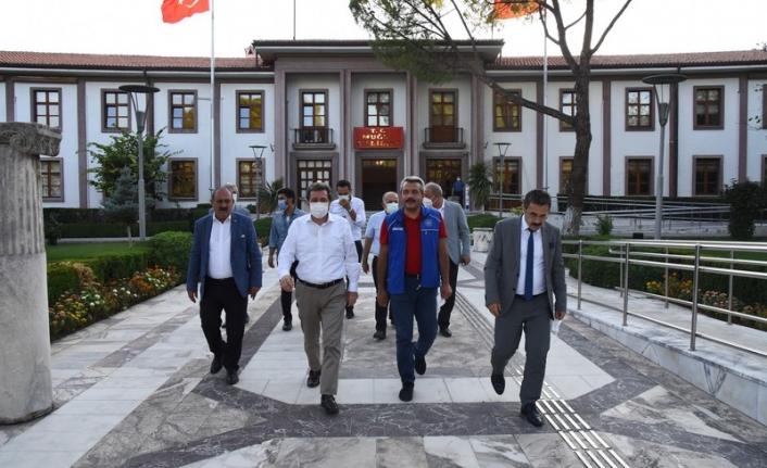 Gençlik ve Spor Bakan Yardımcısı İhsan Selim Baydaş'dan Ziyaret