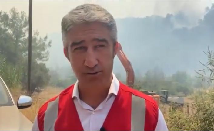 Marmaris Belediye Başkanı: Hava Desteği Söz Konusu Değil