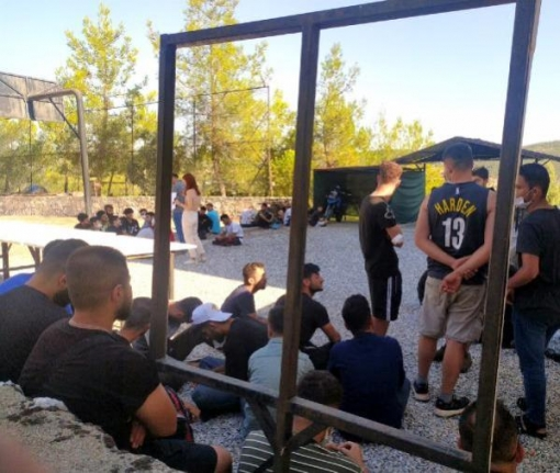 Menteşe'deki Ormanda 55 Kaçak Göçmen Yakalandı
