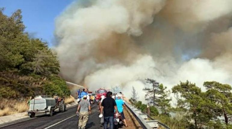 Muğla'da 2 Yangın Daha Çıktı!