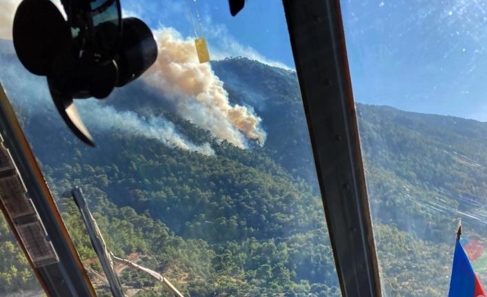 Muğla'da 4 Noktada Yangınlar Devam Ediyor
