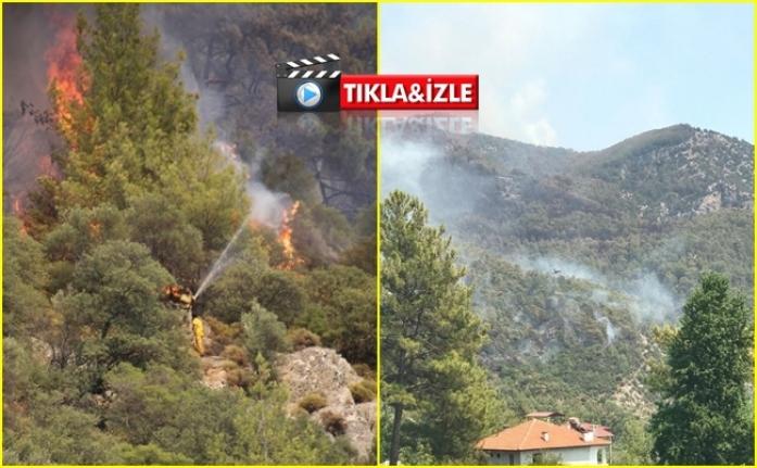 Muğla'daki Bazı Orman Yangınları Drone İle Görüntülendi!