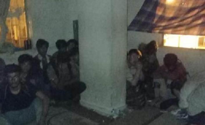 Van'daki İki Dairede 115 Kaçak Göçmen Bulundu