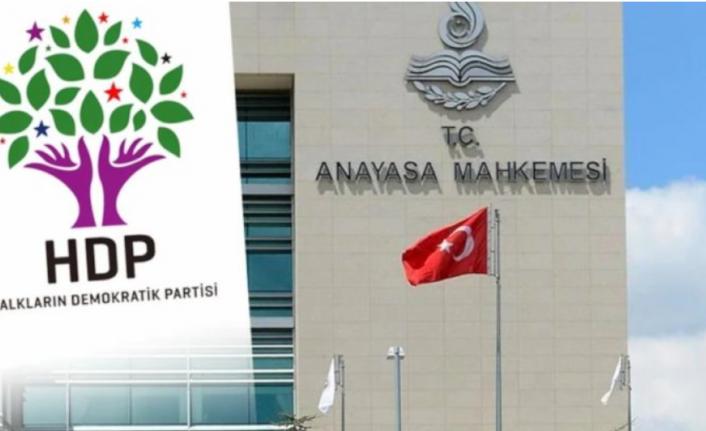 Anayasa Mahkemesi'nden HDP Kararı!