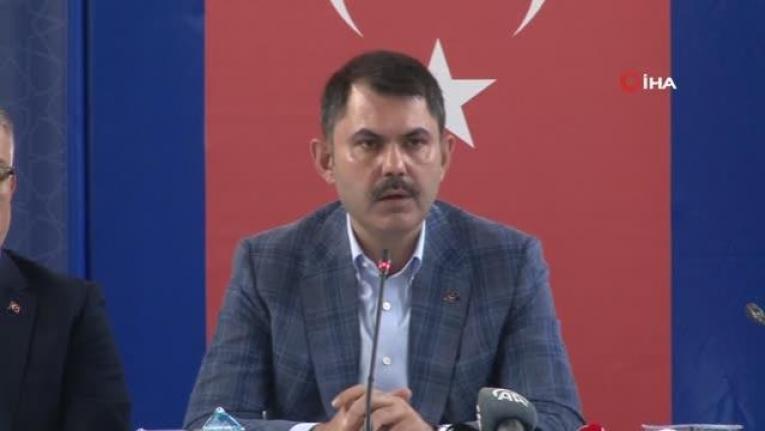 Bakan Kurum: Muğla ve Manavgat'ta Bin 100 Binanın Yıkım Çalışmasını Tamamladık