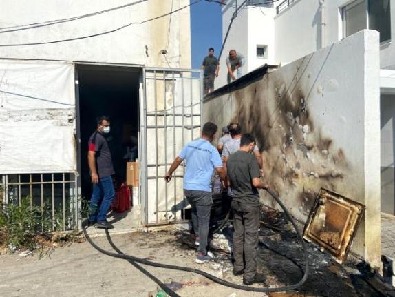 Bodrum'da İş Yerleri Arasında Çıkan Yangın Büyümeden Söndürüldü