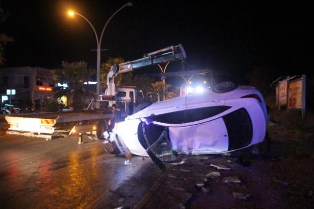Bodrum'da Turistlerin Ölümden Döndüğü Kazada: 1'i Ağır 3 Yaralı