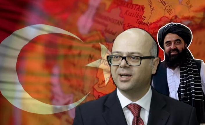 Büyükelçi Erginay, Taliban Vekiliyle Görüştü