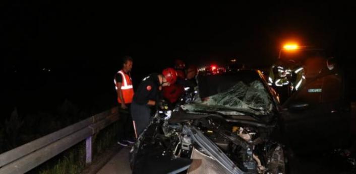 Katarlı 3 Öğrenci, Ankara'da Kaza Yaptı!