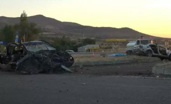 Kırıkkale'de Feci Kaza: 5 Ölü!