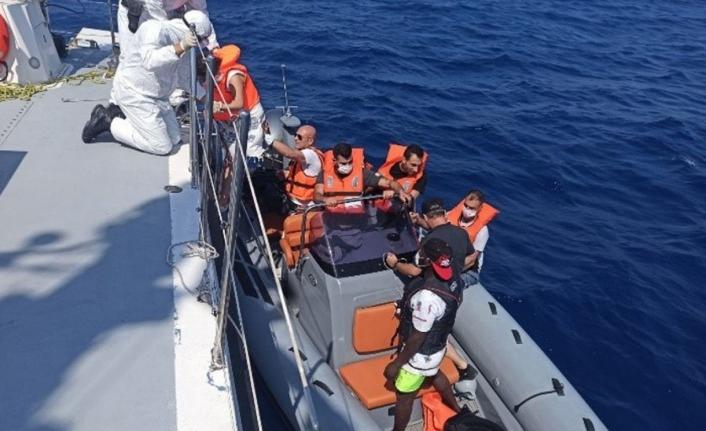 Marmaris Açıklarında 84 Kaçak Göçmen Kurtarıldı