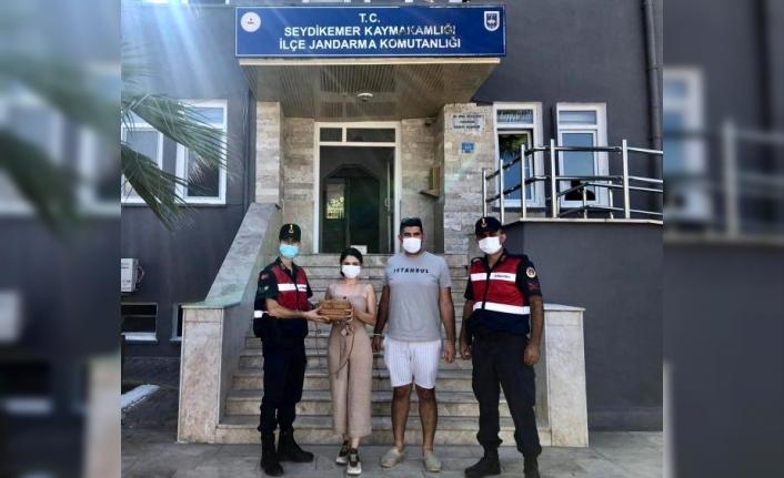Seydikemer'de İçerisinde 20 Bin Lira Olan Çantayı Çalan Şüpheli Yakalandı