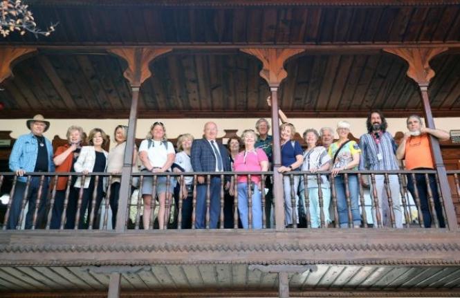 ABD'li Turist Kafilesi Menteşe'yi Gezdi