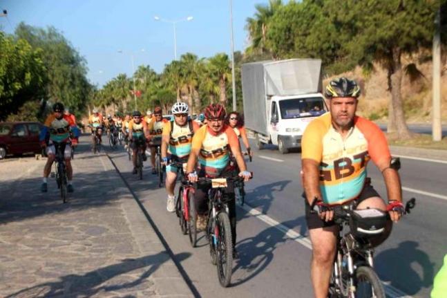 Bodrum'da 15. Gökova Bisiklet Turu Başladı