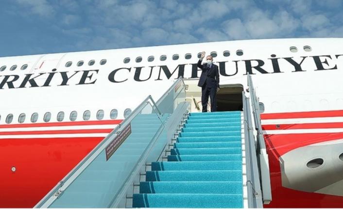 Cumhurbaşkanı Erdoğan, Azerbaycan'da!