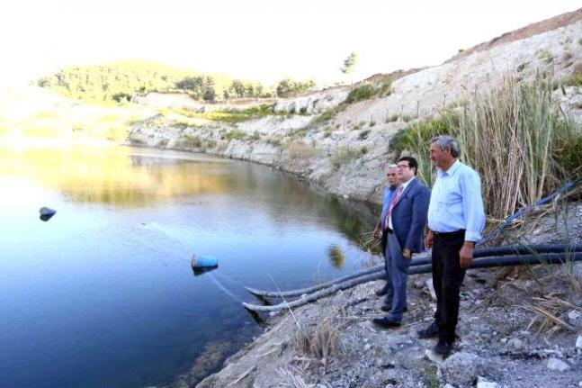 Menteşe'deki Kafaca Ovası Bin Dekar Suyla Buluştu