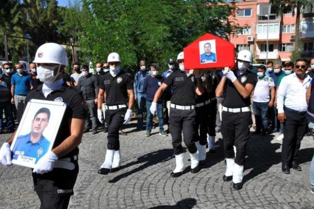 Milas'ta Hayatını Kaybeden Polis İçin Tören Düzenlendi