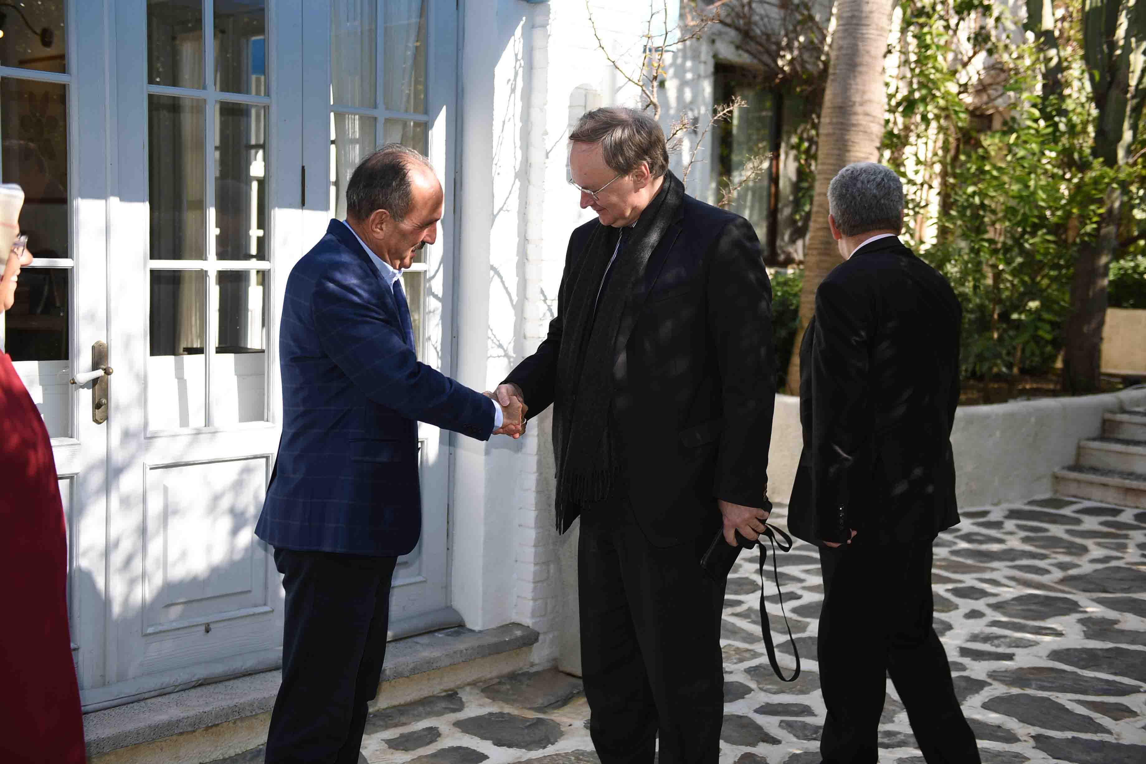 AB Büyükelçisi Berger, Muğla'da Başkan Saatcı ile görüştü