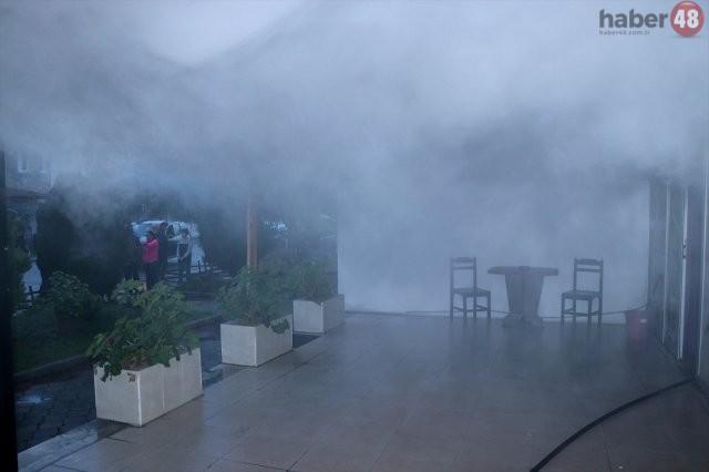 Fethiye'de Masaj Salonu Yangını