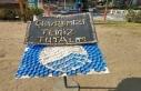 Marmaris'te Çöp Adamlardan Çevre Mesajı