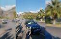 Fethiye'de Otomobilin Çarptığı Motosiklet...