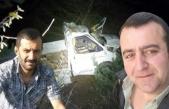 Korkunç Kaza: Kamyonet Uçuruma Yuvarlandı!