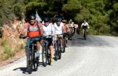 Alternatif Bisiklet Rotaları Bodrum'da Rus Turistlere Tanıtıldı