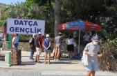 Datça'da Azerbaycan Şehitleri İçin Lokma Dağıtıldı