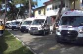 Muğla'da 112 İstasyonlarına Yeni Ambulans