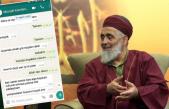 İşte Çocuğa Yönelik Cinsel İstismardan Tutuklanan Uşşaki Tarikatı Liderinin WhatsApp Yazışmaları!