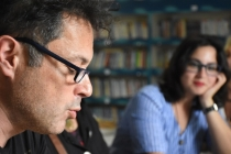 BODRUM'DA ÜNLÜ TİYATROCULAR GÖRME ENGELLİLER İÇİN OKUDU