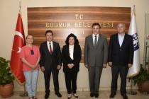 MUĞLA VALİSİ BODRUM'DA ZİYARETLERDE BULUNDU
