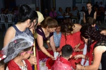 MUĞLA'DA ENGELLİ ÇOCUĞA KORUYUCU AİLESİ SÜNNET DÜĞÜNÜ YAPTI