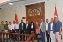 DALAMANLI İŞ ADAMLARINDAN MUĞLA VALİSİ ESENGÜL CİVELEK'E ZİYARET