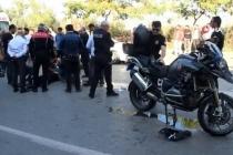 MUĞLA'DA MEYDANA GELEN TRAFİK KAZASINDA 2 POLİS YARALANDI