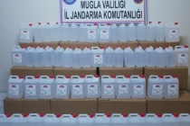 Muğla'da Kaçak İçki Operasyonu