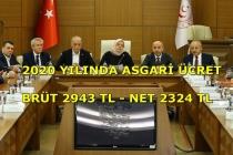 2020 ASGARİ ÜCRET ZAMMI BELLİ OLDU!