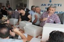 AK Parti Milas İlçe Teşkilatı'nda Seçim!
