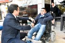 Barış Saylak'tan Engelliler Gününde Anlamlı Ziyaret