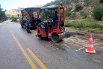 Bodrum'da Yollar Kış İçin Hazırlanıyor