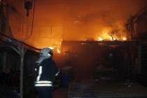 Fethiye'de Isı Yalıtım Atölyesinde Yangın Çıktı!