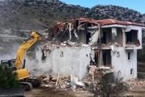 Marmaris'te Kaçak Villalar Yıkıldı!
