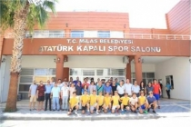 Milas Atatürk Spor Kompleksi Hizmete Açıldı