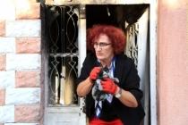 Milas'da Yanan Evde Bulunan Kediler Korumaya Alındı