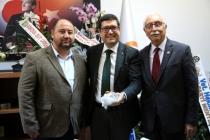 Milas Ziraat Odası'ndan Müdür Saylak'a Ziyaret