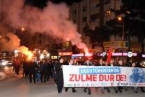 Muğla'da STK'lardan Çin'e Doğu Türkistan Tepkisi!