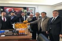 Odalar Birliği Başkanlarından Saylak'a  Ziyaret