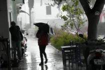 Sağanak Yağış Bodrum'da Etkili Oldu!