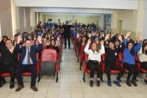Semih İğdigül Sokak Hayvanları için Milas'ta Öğrencilerle Buluştu