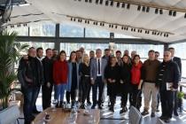 Başkan Mehmet Oktay Gazetecileri Unutmadı!